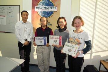 The Yokohama Toastmasters Club