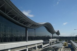O aeroporto de dia