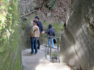 It is said there are 2,000 steps that run across Mt Nokogiriyama. I never counted, but it certainly felt like thousands!
