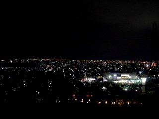 Night view of Sendai City seen from Best Western Hotel Sendai