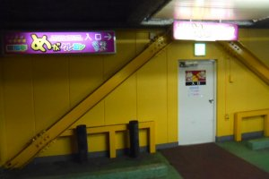On the third floor of a multi-story car park isn't the most obvious place to find karaoke, but this place is pretty unique.