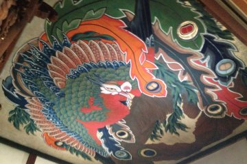 A Hokusai on the Ceiling