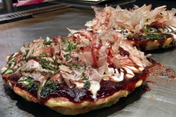 Chibo Okonomiyaki in Sendai
