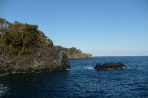 The rugged scenery of the Jogasaki coast
