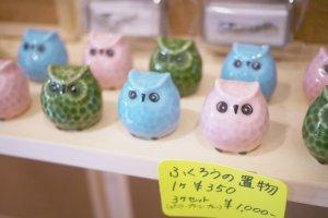 Little owl souvenirs