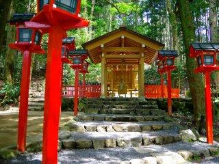 Shrine for match making god