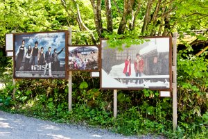 Tsurunoyu Onsen is even popular overseas - several Korean Films and TV Dramas have been filmed here