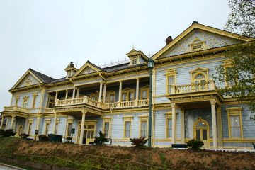 Old  Public Hall of  Hakodate Ward