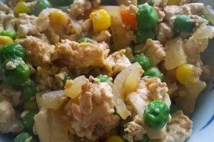 Vegetarian Iri Dofu