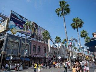 Бульвар студии Universal.
