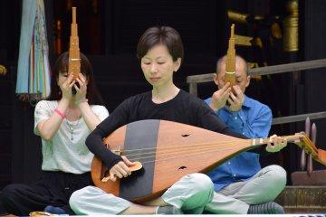 Summer Gagaku Performance in Sendai