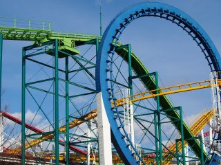 Nasu Highland Amusement park: Roller coasters and rides for all the family