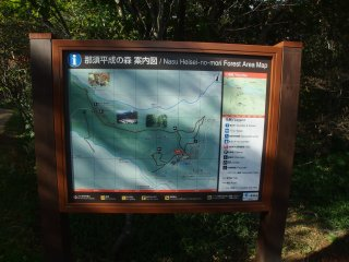 Heisei no Mori is an area of forest that used to belong to the nearbyImperial Villa. It was gifted to the people and is now a diverse, natural forest area open to the public