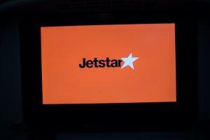 The Jetstar 787 Dreamliner'sseat back entertainment system
