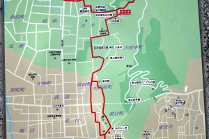 Inishie-no-michi - a walking (or cycling) trail starting at Kofu Station and including Takeda Shrine, Shingen Takeda's grave, and the five Kofu Gozan temples.