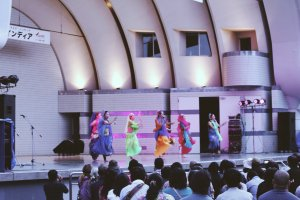 One of the dance performances