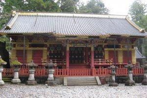 Elaborately decorated stone storehouses