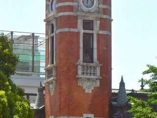 The tower is 36 meters high.