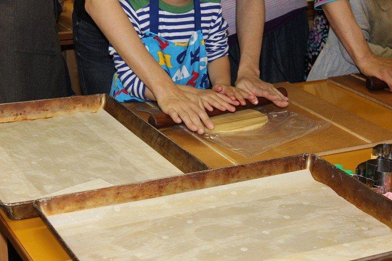バタークッキー作り体験
