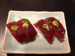 Shin's Sushi in Zama, Kanagawa