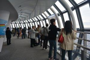 Ruang observasi Skytree