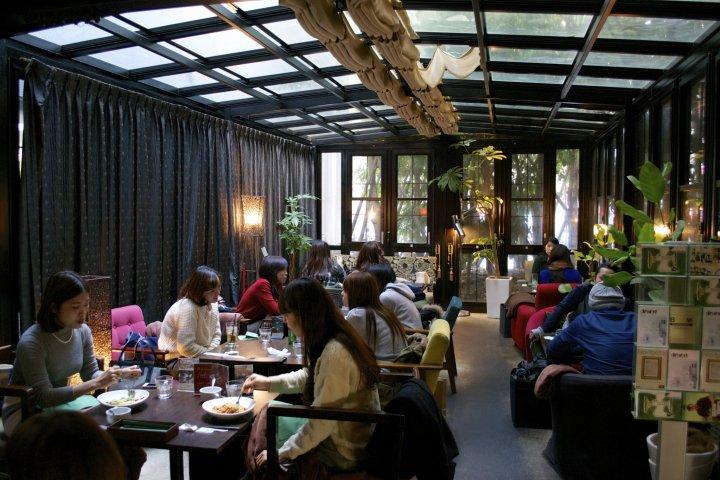Green House Silva Café in Kobe