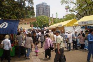 Bazaar in action