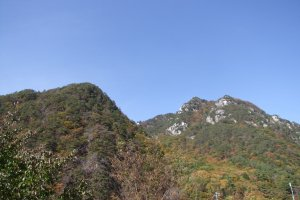 Breathing the clean mountain air