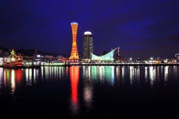 港町の灯り