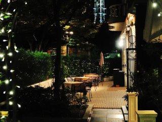 ร้านอาหารในสวน Kobe East Pleasure Park ซึ่งตั้งอยู่ทางได้ของสำนักงานเมืองโกเบ