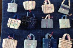 These cute indigo handbags make a great souvenir