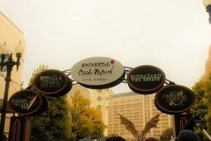 O Universal Cool Japan tem atrações de quatro nomes populares no Japão