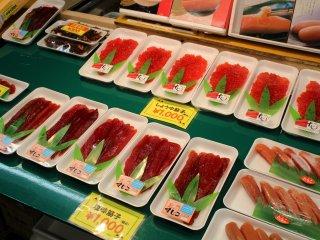 Trứng cá hồi Sujiko