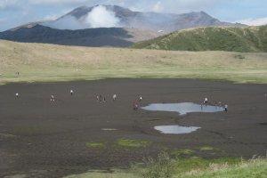 The Kusa-senri plateau