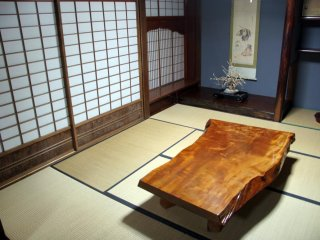 '갓쇼즈쿠리' 집의 내부