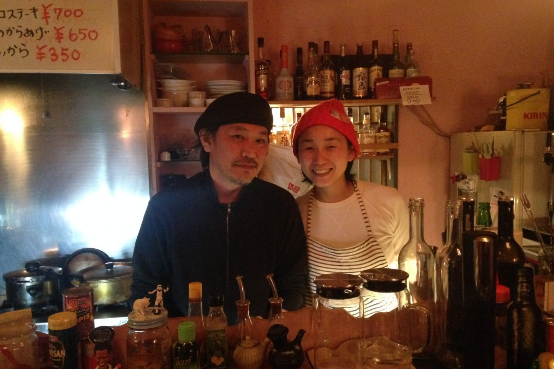 Susumu and Aki. Awesome people.