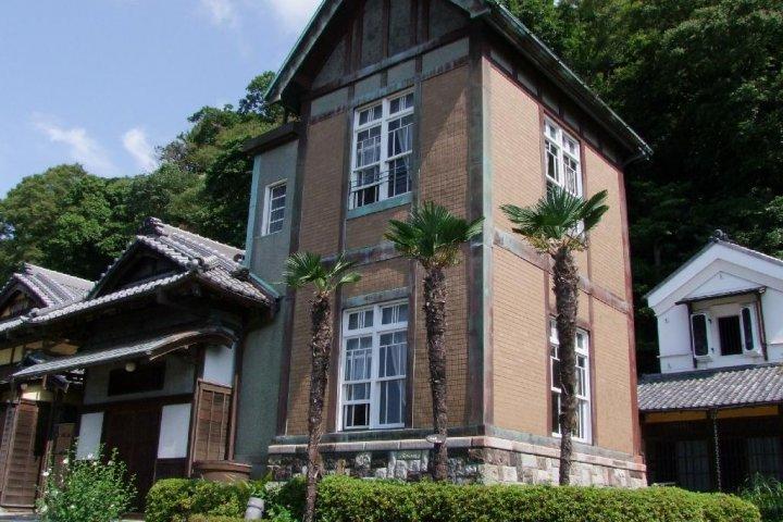Rumah Kyu-Yagishita-Tei di Yokohama