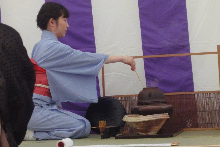 Фестиваль чайной цермонии в Сэндае