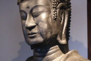 Head of 1300 year old Buddha