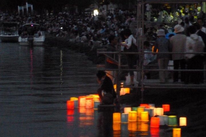 Kanzanji Lanterns & Fireworks