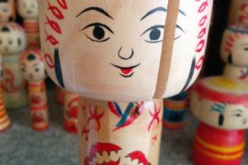 Ishinomaki Style Kokeshi Dolls