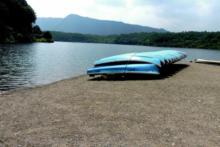 Летние развлечения на озере Сайко