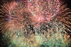 Fireworks festival in Yokohama