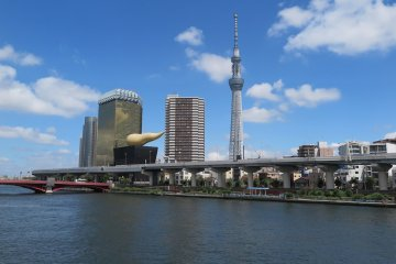 Skytree Tower and Town