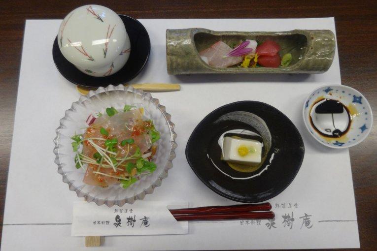 Kaiseki at Senjuan