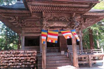 Le Temple Chūson-ji à Hiraizumi
