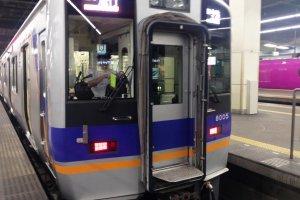The Nara Access ticket is the cheapest way to Nara using local express trains like this via Kishiwada and Namba