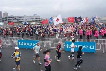 การวิ่งแข่งมาราธอนโตเกียว
