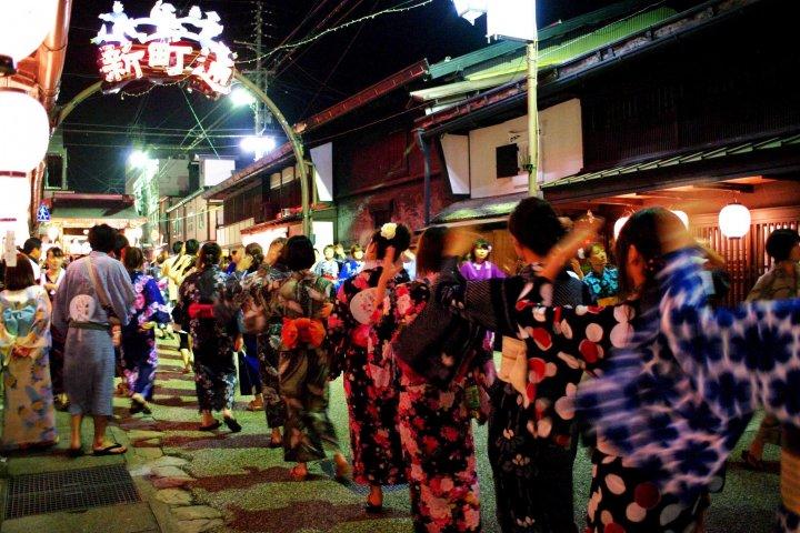 Gujo-Hachiman O-bon Dance Festival