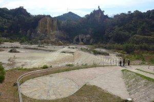 Izumiyama Quarry, a National Cultural Heritage site in Arita